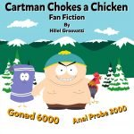 Cartman with Towlie and Radcliff the Rooster